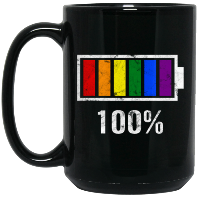 lgbt gay pride, Love All Gay Pride Black Mug