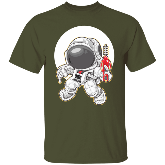 Cartoon Astronaut Space Ranger Dance
