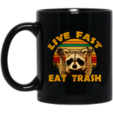 Live Fast Eat Trash Is Tiger Camper