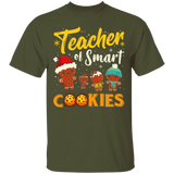 Christmas Teacher Smart Cookies Funny