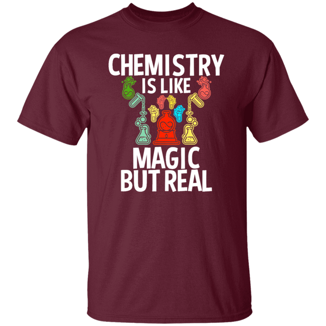 Chemistry Is Like Magic But Real
