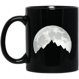 Nature Earth Mother Nature Travel Mountaineering Black Mug