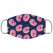 Pink Donut 3 Layers Face Mask
