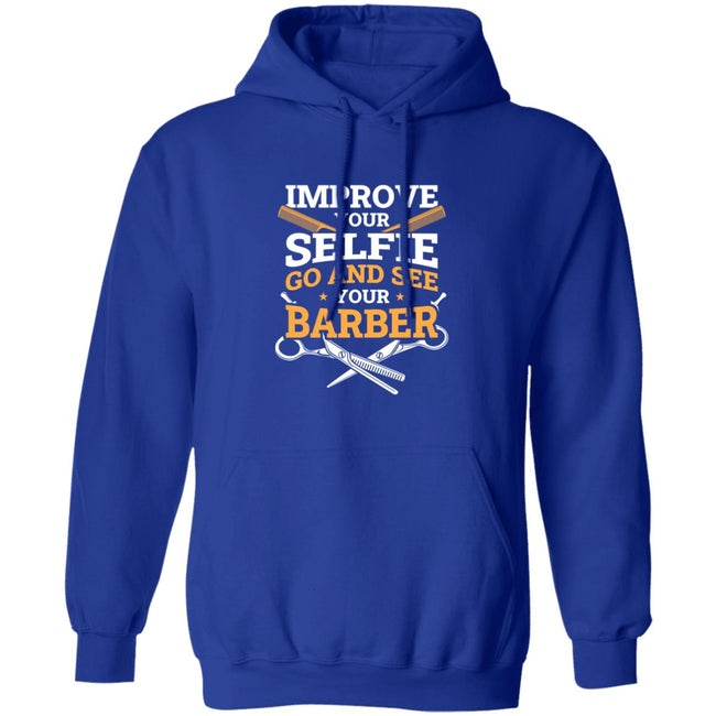 Improve Your Selfie Funny Barber Men Collections