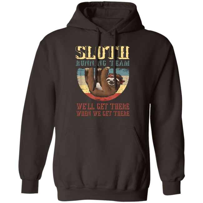 Sloth Running Team We'll Get There When We Get The