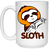 Sloth Sloths Lovers Funny and Cute White Mug