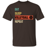 Eat Sleep Volleyball Repeat Sport