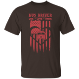 Bus Driver Live Love Drive Car Heart