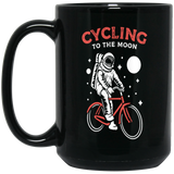 Astronaut Bicycle Cycling Gift