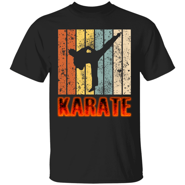 Retro Karate Powerful