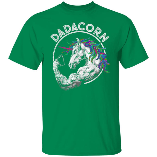 Funny Dadacorn Unicorn Muscle Dad