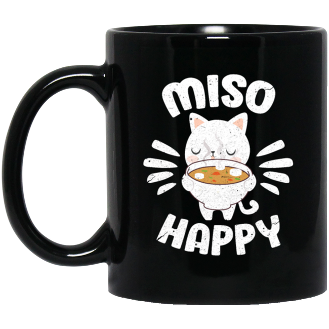 Food Pun Miso Happy, Japan Food Cute