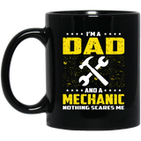Mechanic Dad Funny T Shirt For Fathers Day