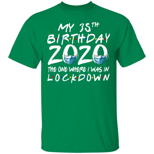35th Birthday 2020 The One Where I Was In Lockdown