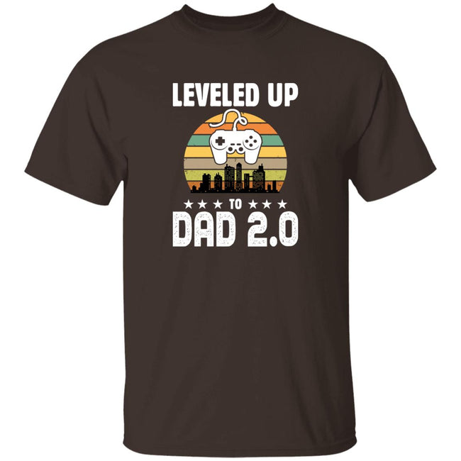 Leveled Up To Dad 2.0, Retro Father's Day