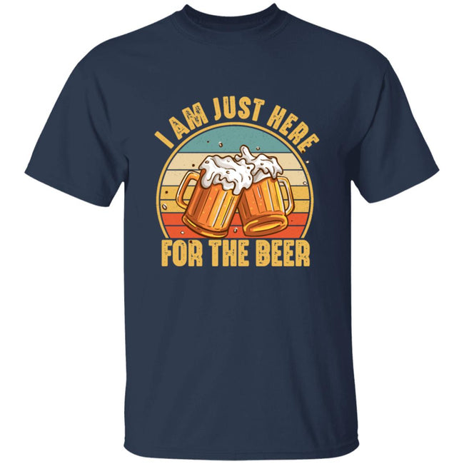 Funny Drinking, I'm Just Here For the Beer Men Collections