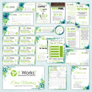 It Works Marketing Bundle, Personalized It Works Package IW12