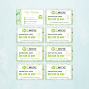 It Works Scratch Off Cards, Personalized It Works Scratch To Win Card IW13