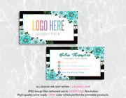 Personalized Lularoe Business Cards, Lularoe Template Design LLR20