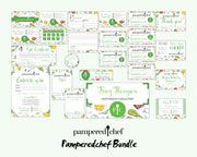 Personalized Pampered Chef Package, Pampered Chef Marketing Bundle, Pampered Chef Template PPC15
