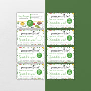 Pampered Chef Scratch Off Cards, Personalized Pampered Chef Scratch To Win Card PPC15