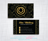 Monat Business Cards, Personalized Monat Hair Care Cards MN33