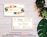 Monat Business Cards, Personalized Monat Hair Care Cards MN12