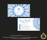 Monat Business Cards, Personalized Monat Hair Care Cards MN13