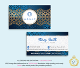 Monat Business Cards, Personalized Monat Hair Care Cards MN24