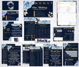 Monat Cards, Monat Marketing Bundle, Personalized Monat Business Cards MN34
