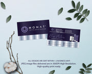 Personalized Monat Hair Care Cards, Monat Business Cards MN97