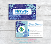 Norwex Business Cards, Personalized Norwex Template NR17