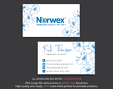 Norwex Business Cards, Personalized Norwex Template NR14