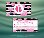 Perfectly Posh Business Cards, Personalized Perfectly Posh Consultant PS02