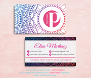 Perfectly Posh Business Cards, Personalized Perfectly Posh Consultant PS01