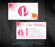 Perfectly Posh Business Cards, Personalized Perfectly Posh Consultant PS03