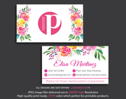 Perfectly Posh Business Cards, Personalized Perfectly Posh Consultant PS04