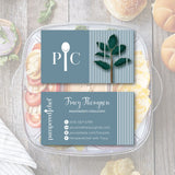 Pampered Chef Business Card, Personalized Pampered Chef Business Cards PPC01