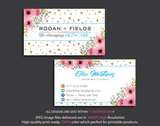 Rodan & Fields Business Cards, Personalized Rodan & Fields Cards RF17