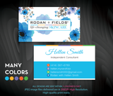 Rodan & Fields Business Cards, Personalized Rodan & Fields Cards RF94