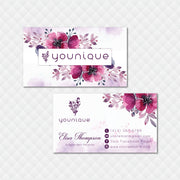 Younique Business Card, Personalized Younique Business Card YQ12