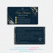 Personalized BeautyCounter Card, The Never List Business Cards BC27
