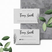 Editable Business Cards, DIY Business Card Template, Try Before You Buy BC04