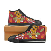 Sugar Skull, Day of the dead Women's Classic High Top Canvas Shoes, Women's Canvas Shoes