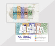 Rodan & Fields Business Cards, Personalized Rodan & Fields Cards RF101