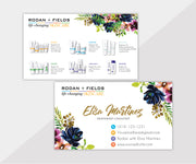 Rodan & Fields Business Cards, Personalized Rodan & Fields Cards RF102