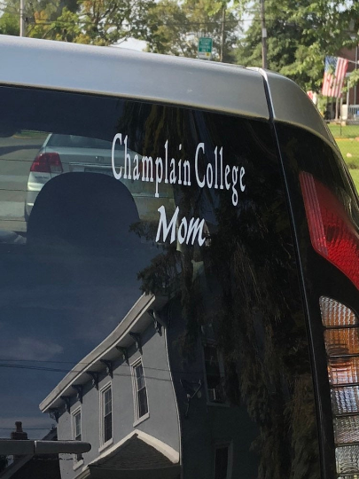 College Mom/Dad Window Decal
