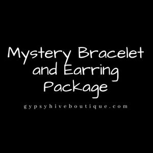 Mystery Bracelet and Earring Set