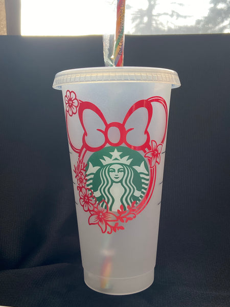 Starbucks Cup Minnie Mouse Disney - Personalized