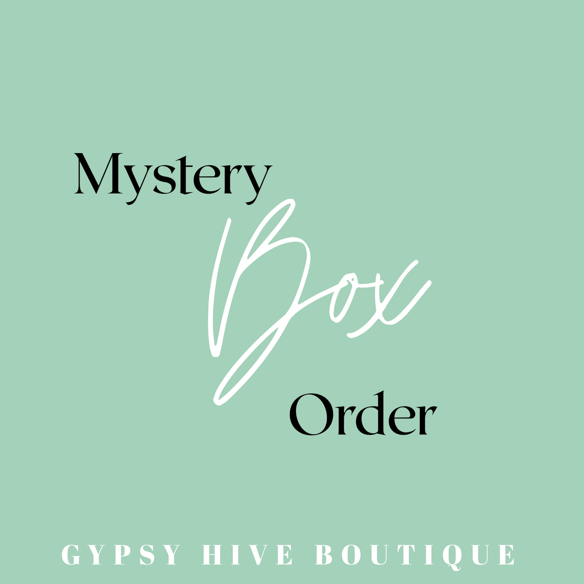 Mystery Box Order
